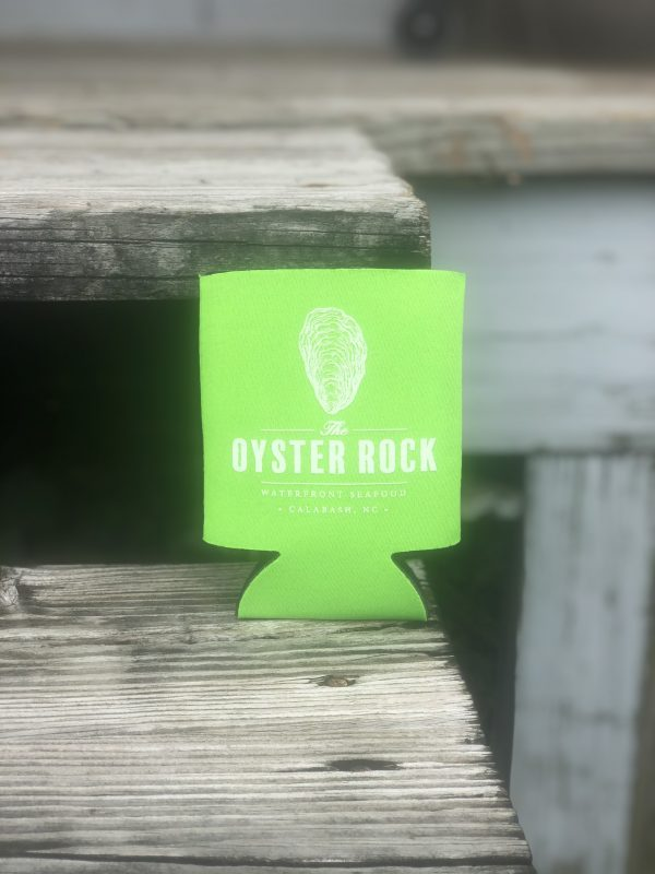 Oyster Rock - Lime Koozie